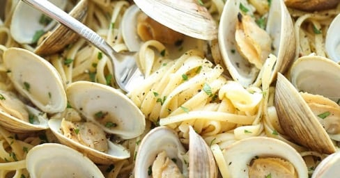 Pasta Alle Vongole – Pasta With Clams